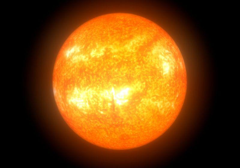imagem meramente ilustrativa do sol