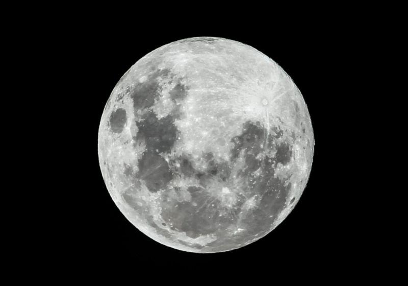 imagem meramente ilustrativa da Lua